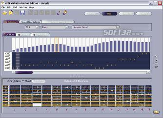 Midi Virtuoso Guitar Edition Screenshot