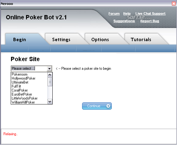 Online Poker Bot Screenshot 3