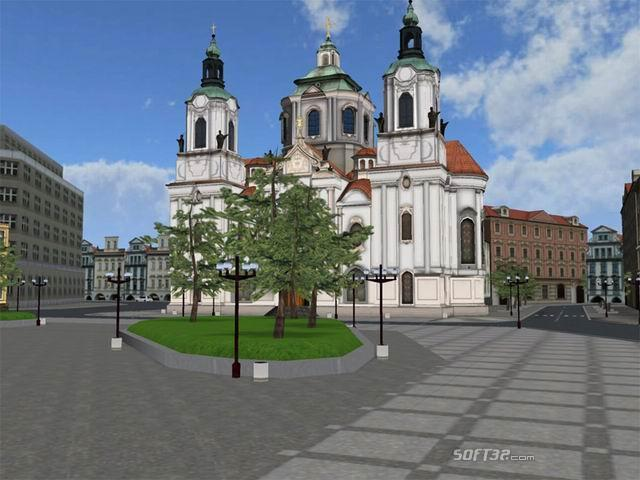 Prague Old Town Square 3D Screenshot