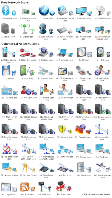 Network Icon Set 2 Screenshot 1
