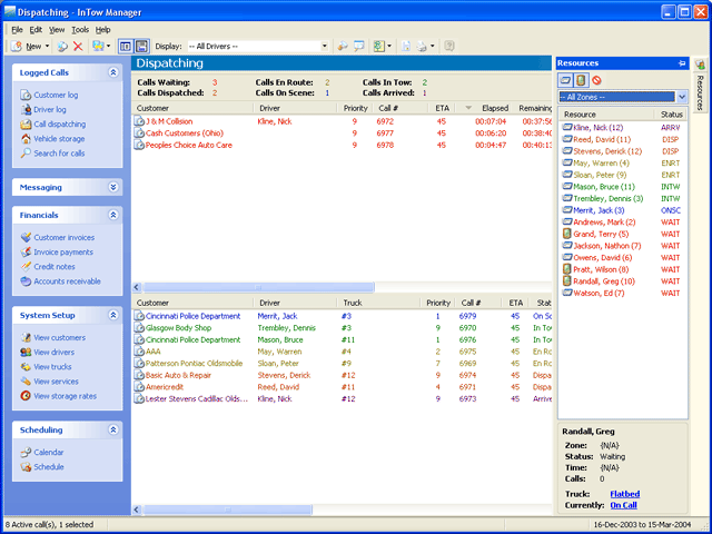 InTow Software Suite Screenshot 1