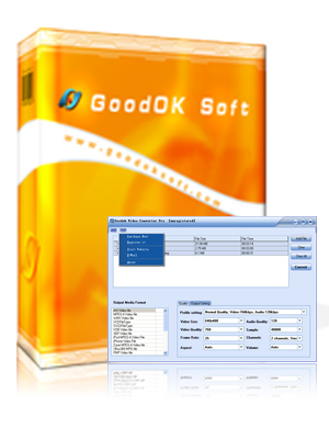 GoodOk Video Converter Pro Screenshot 1