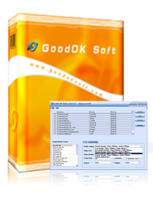 GoodOk PSP Video Converter Screenshot 1