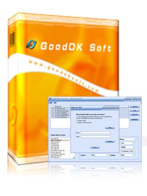 GoodOk MP4 Converter Screenshot 1