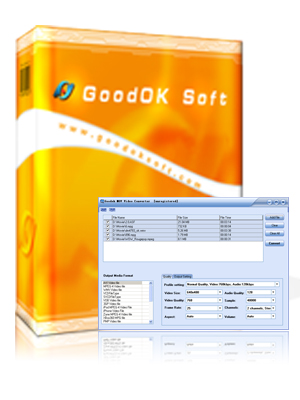 GoodOk MOV Video Converter Screenshot 1
