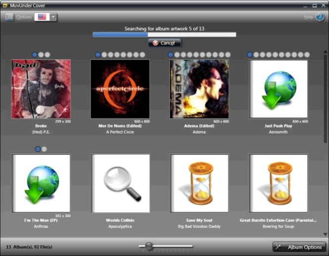 MuvUnder Cover: The Album Art Sleuth Screenshot