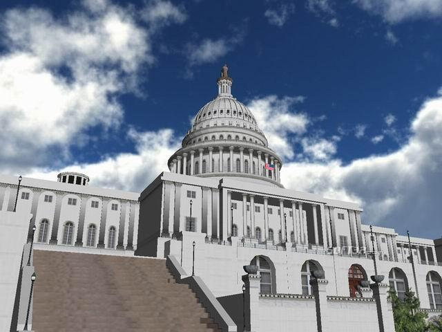 US Capitol 3D Screenshot