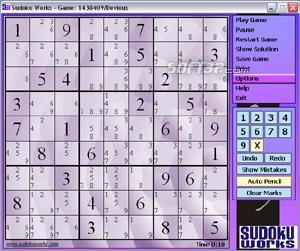 SudokuWorks Screenshot 2