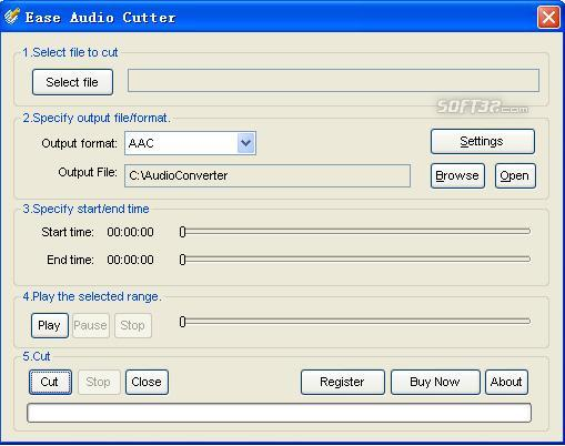 Ease Audio Cutter Screenshot 2