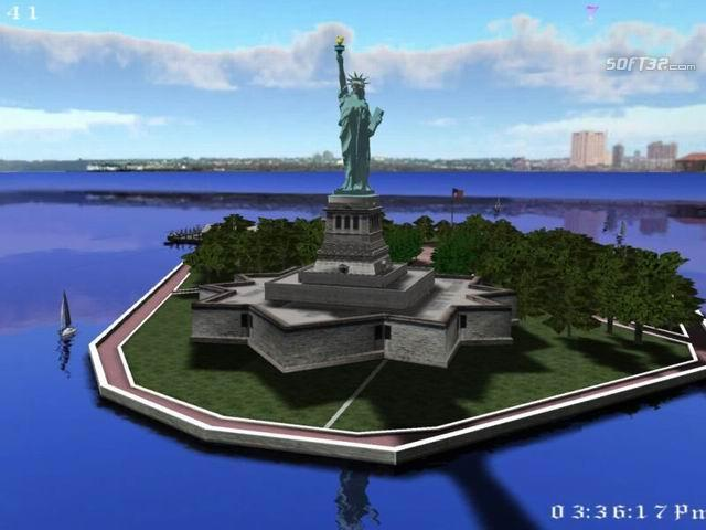 Statue of Liberty 3D Deluxe Screenshot