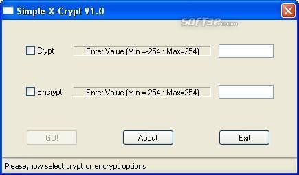 Simple-X-Crypt Screenshot