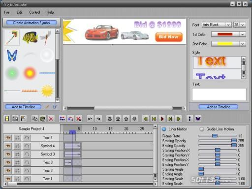 Magic Animator Screenshot 2
