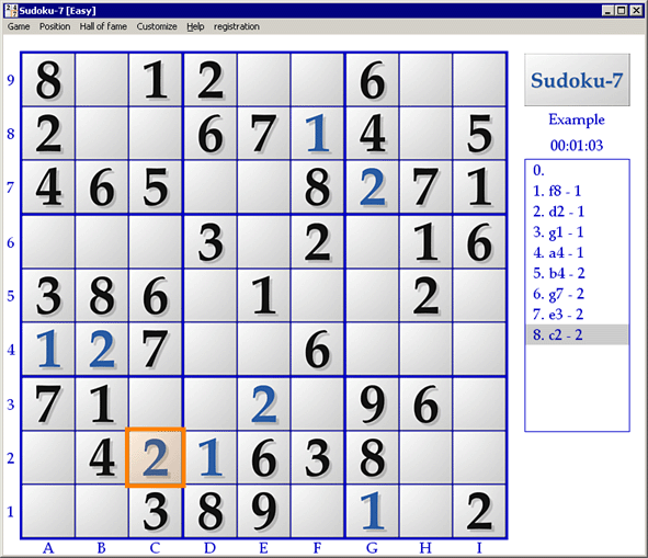 Sudoku-7 Screenshot 1