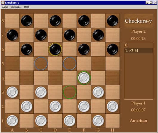 Checkers-7 Screenshot 1
