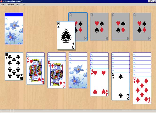 Solitaire-7 Screenshot 1