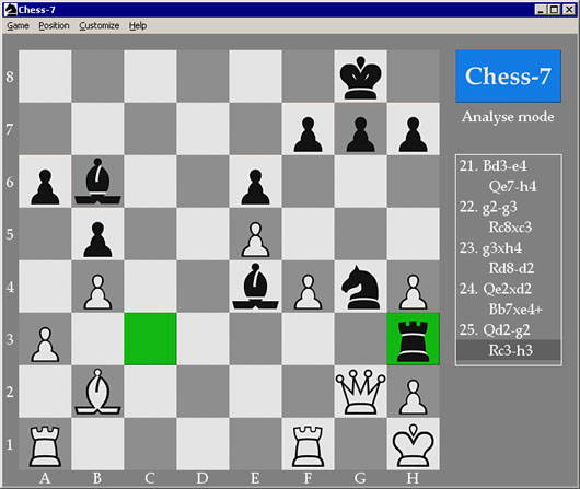 Chess-7 Screenshot 1