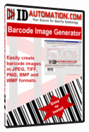 GS1 DataBar Barcode Image Generator Screenshot
