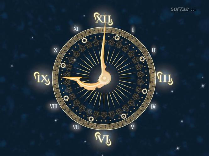 Magic Clock 3D Screensaver Screenshot