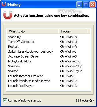 iHotkey Screenshot 3