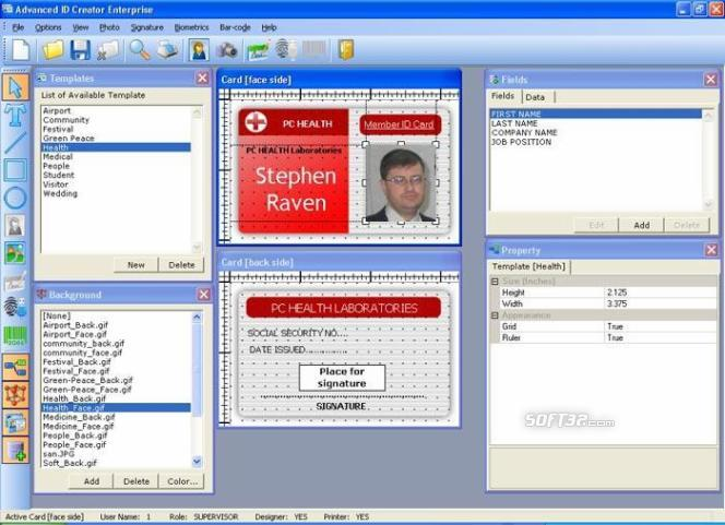 Advanced ID Creator Enterprise Screenshot 3