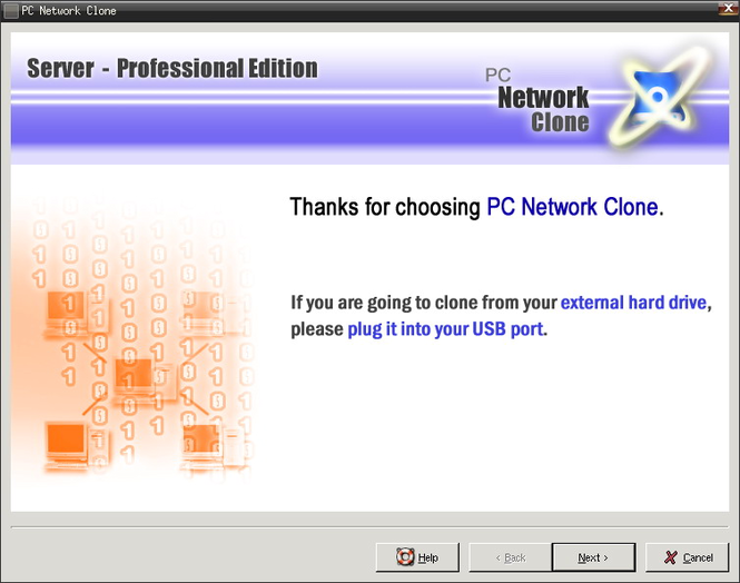PC Network Clone (Professional Edition) Screenshot 1