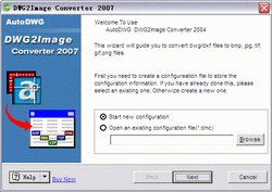 AutoDWG DWG to jpg Converter Screenshot