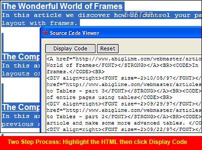 Source Code Viewer Screenshot 2