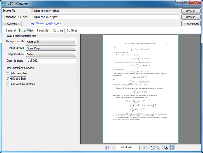 STDU Converter Screenshot