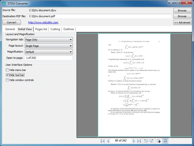 STDU Converter Screenshot 1