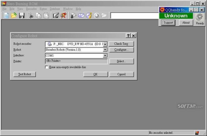 QQhandy for Nero Screenshot 2