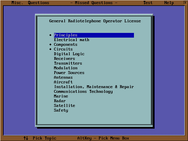 RadioTelephone Tutor Screenshot 2