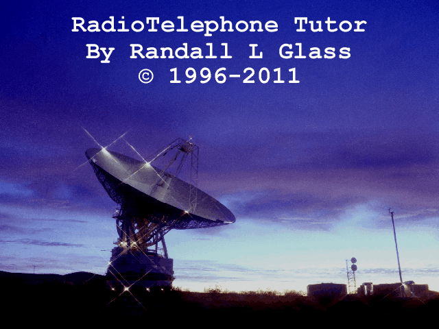 RadioTelephone Tutor Screenshot