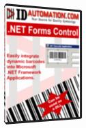GS1 DataBar Windows Forms Control Screenshot 1