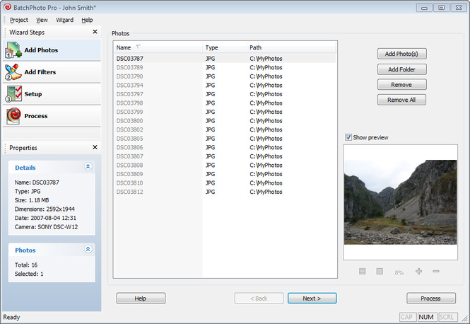 ImageConverterPro Screenshot