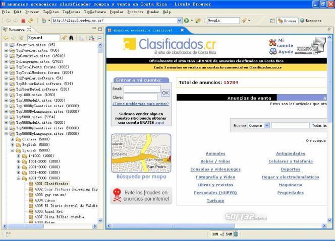 Lively Browser Basic Screenshot 3