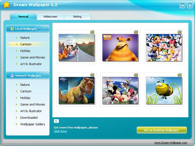 Dream Wallpaper Screenshot 1