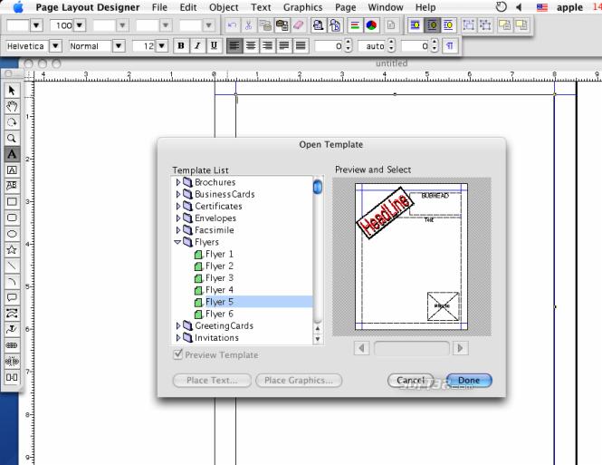 iWinSoft Page Layout Designer for Mac Screenshot 3