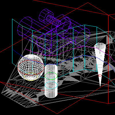 3DINTERSECTION for AutoCAD Screenshot