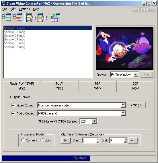 Blaze Video Converter MAX Screenshot 2
