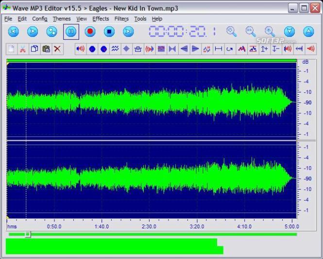 Wave MP3 Editor Screenshot 2