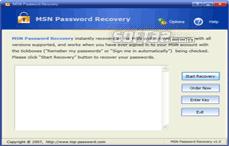 MSN Password Recovery Screenshot 2