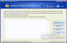 Dialup Password Recovery Screenshot 2