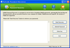 Paltalk Password Recovery Screenshot 1