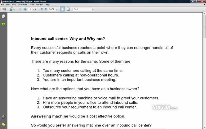Inbound Call center Profit Book Screenshot 3