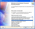 Network Password Recovery Wizard 1