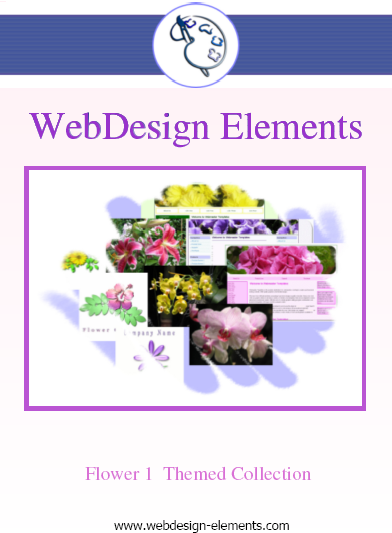 Flower 1 Web Elements Screenshot 2