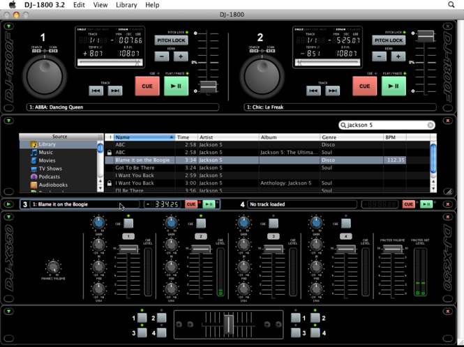 Agant DJ-1800 Screenshot 2