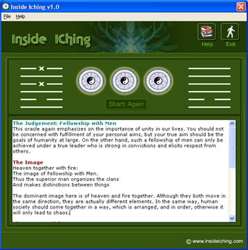 Inside IChing Screenshot