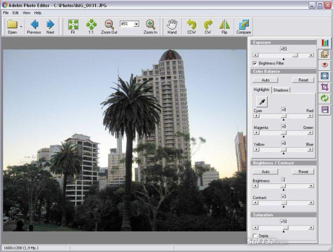 Adebis Photo Editor Screenshot 3