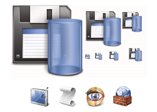 Vista Network Icons Screenshot